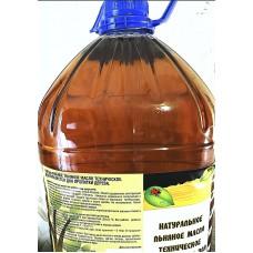 Льняное масло техническое