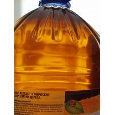 Льняное масло техническое осветленное
